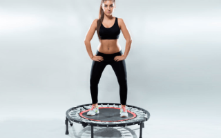 Фитнес на батутах: видео, упражнения на батуте для похудения