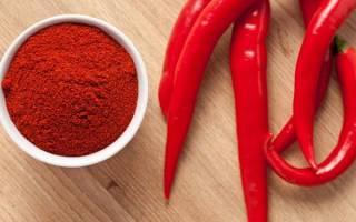 Острый красный перец против целлюлита – отзывы, рецепты, противопоказания