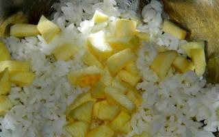 Диета на рисе, яблоках и курице – меню, правила, отзывы