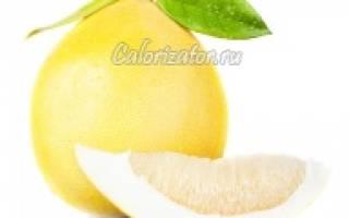 Калорийность помело, какие витамины в помело