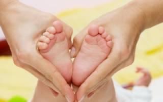 Как делать массаж стоп при плоскостопии у детей до года или старше