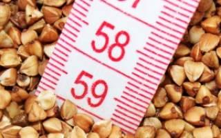 Гречневая диета на 5 дней: меню, результаты