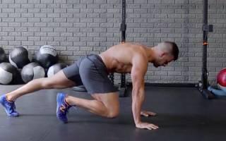 Как выполнять упражнение скалолаз, с фото, видео, какие мышцы работают