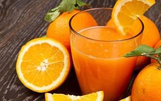 Апельсиновый сок и фреш – калорийность на 100 г, пищевая ценность, БЖУ, описание