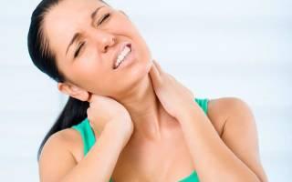 Боли в шее, тошнота и головокружение