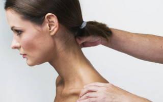 Как делать массаж в области шеи, техника шейного массажа при болях в шее