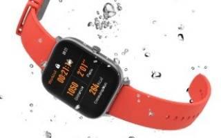 Рейтинг умных водонепроницаемых часов