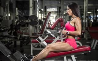 Сколько упражнений выполнять за одну тренировку