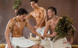 Вред и больза бани для мужчин