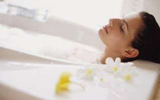 Можно ли принимать ванну при простуде если нет температуры