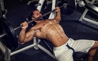 верхняя часть грудных мышц упражнения