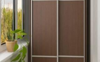 Как сделать шкаф на балконе своими руками – инструкция с иллюстрациями