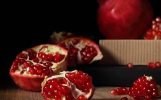 Калорийность граната, пищевая ценность, состав продукта