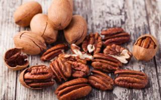 Пекан: калорийность, полезные свойства и вред для организма, состав и витамины ореха