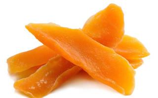 Сушеное манго – калорийность, польза и вред
