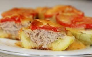 Сколько калорий в фаршированных кабачках, рецепты фаршированных кабачков