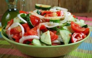 Сколько калорий в салате из огурцов и помидоров, пищевая ценность и рецепты салатов из свежих огурцов и помидоров