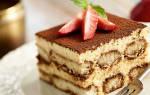 Тирамису: калорийность, бжу, польза и вред