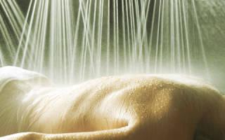 Чем полезен душ Виши, показания и противопоказания для душа Виши