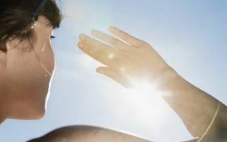 Солнечные ожоги сетчатки глаз, роговицы – симптомы, лечение отеков