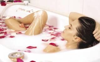 Как сделать молочную ванну, рецепт молочных ванн царицы Клеопатры