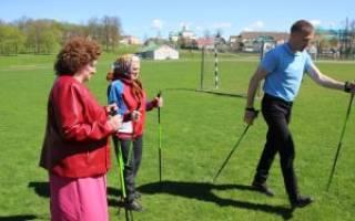 Скандинавская ходьба с палками – правильная техника, как ходить с палками для скандинавской ходьбы, советы по ходьбе с палками для пожилых