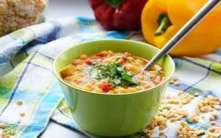 Гороховый суп калорийность на 100 г продукта бжу и полезные свойства