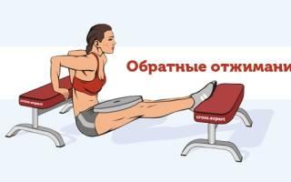 Отжимание от лавки сзади: фото и видео техники выполнения упражнения