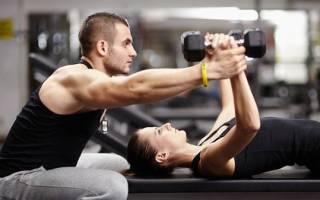 Программа тренировок в тренажерном зале для активного похудения для женщин