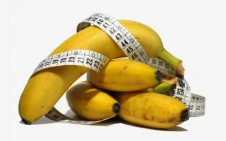 Разгрузочный день на бананах: меню, результаты