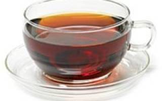 Диета на черном чае на неделю